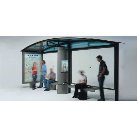 MERAK basic bus shelter
