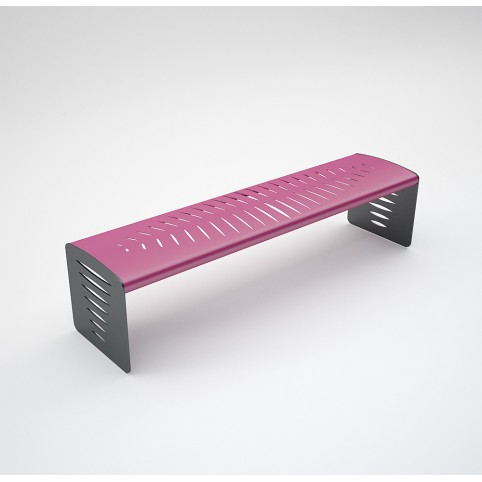 BENCH PIUMA (Iron galvanized and painted )
