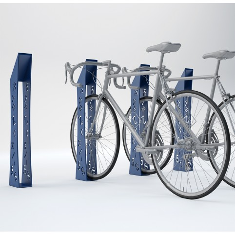 BIKE RANGE ALFA (galvanized iron and varnish)