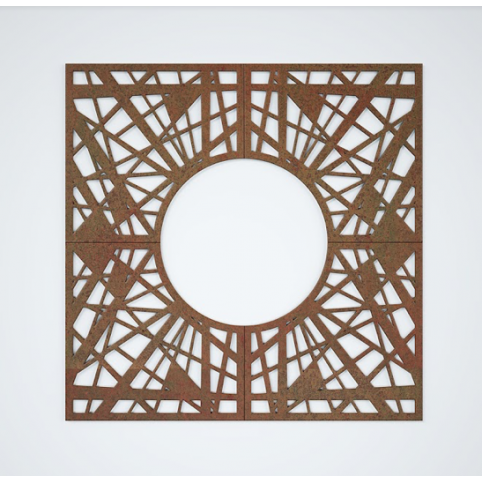 TREE GRATE RAMI SQUARE 990x990mm