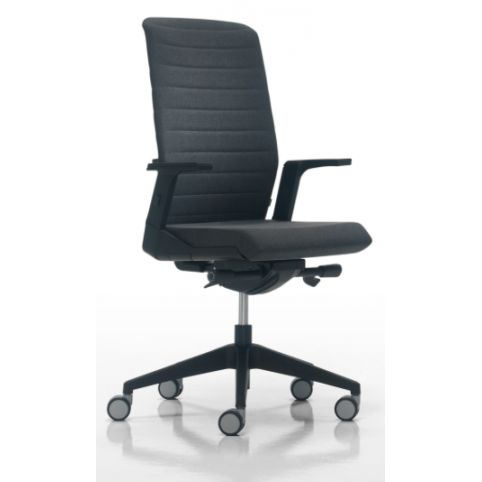 AIR chair AIR0120Sl with black mesh high backrest in synchro