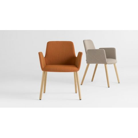 ALTEA LB armchair ALT0030MA DB 4 oak legs