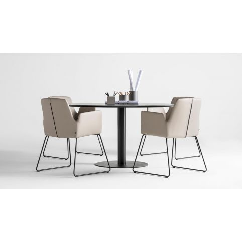 ALTEA LB armchair  ALT0080BL DB cantilever base
