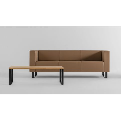 AVALON 3 seater sofa in structure chrome AVL0003CR