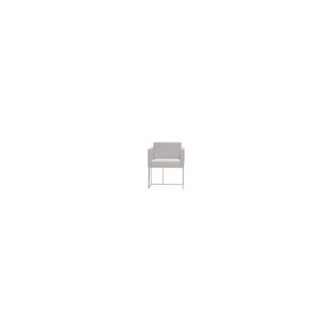 ELEMENTS XS white armchair ELM0020BL