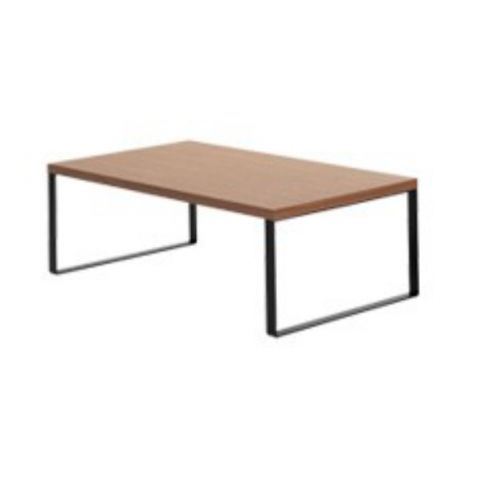 AVALON coffee white table 110x60 in beech AVL0110BL