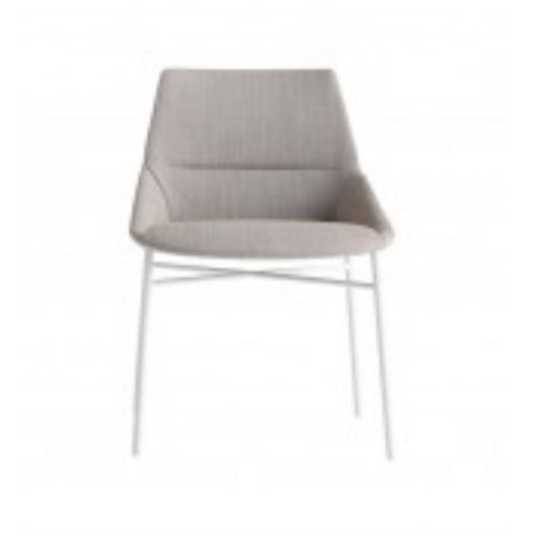DUNAS XS 4 legs white chair DUN0260BL
