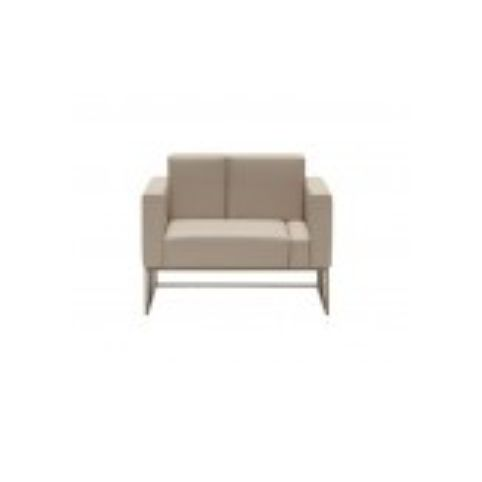 ELEMENTS 1 seater sofa ELM0100BL