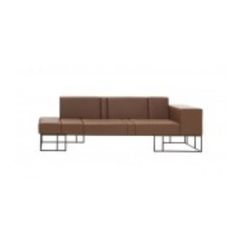 ELEMENTS 220cm sofas with left side arms ELM0204BL