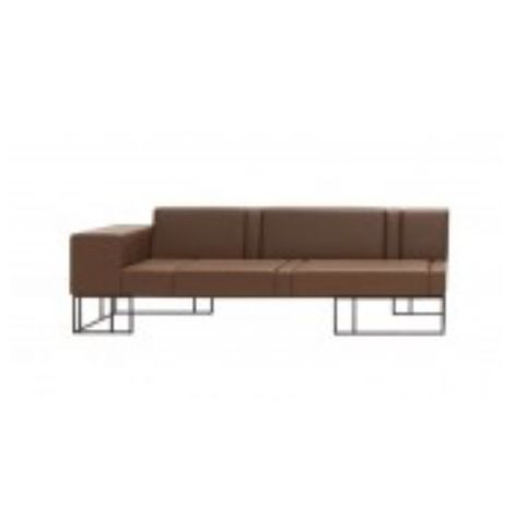 ELEMENTS 220cm  sofas with right side arm ELM0202BL