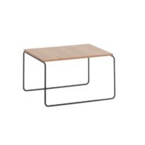 ETNIA table 60x60 in beech ETN0104BL