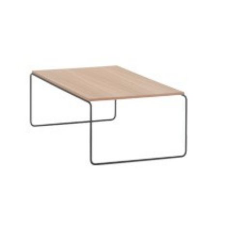 ETNIA table 110x60 in beech ETN0204BL