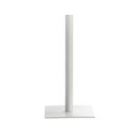 FLAT square base 49x49 h103cm in white FLA0011BL