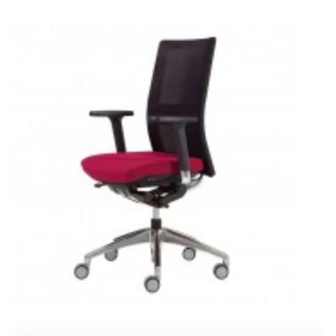 ITEK chair in synchro in black mesh ITK0000SI