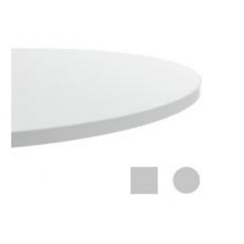 MALIBU bilaminated circle table top TAP0080BL