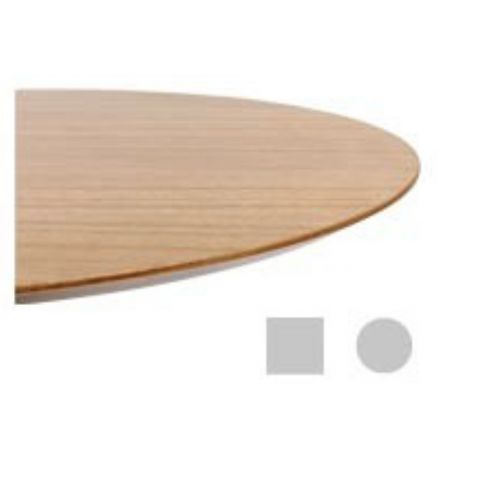 MALIBU oak circle table top 80cm TAP0080MA