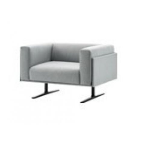 MARCUS armchair in white MAR0100BL