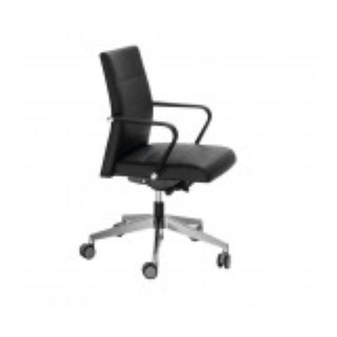 MILLENIUM low backrest armchair in synchro MIL0004SI