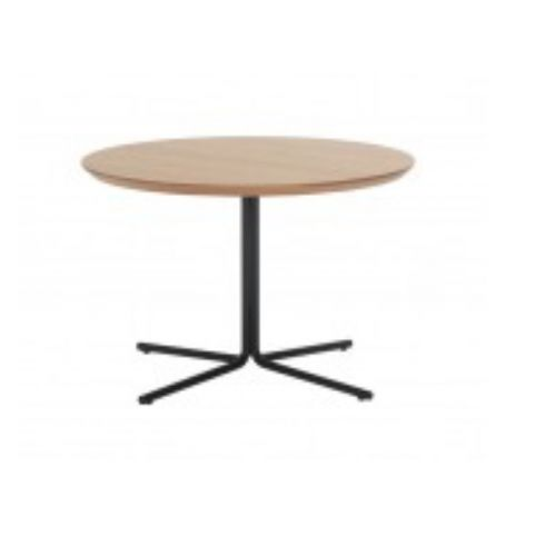 MOON Ø60cm round oak table MOO0060BL