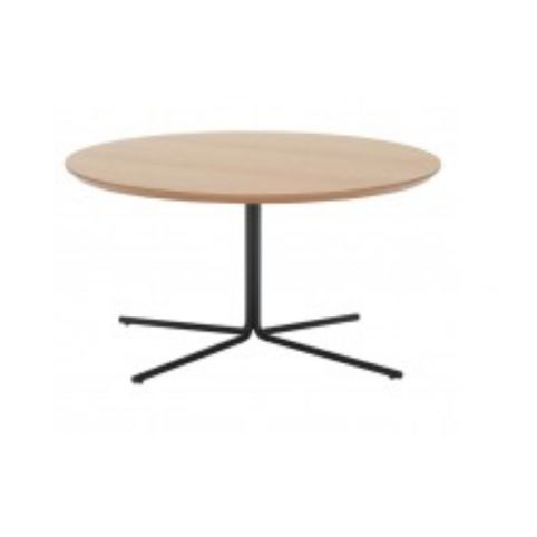 MOON Ø80cm round oak table MOO0080BL