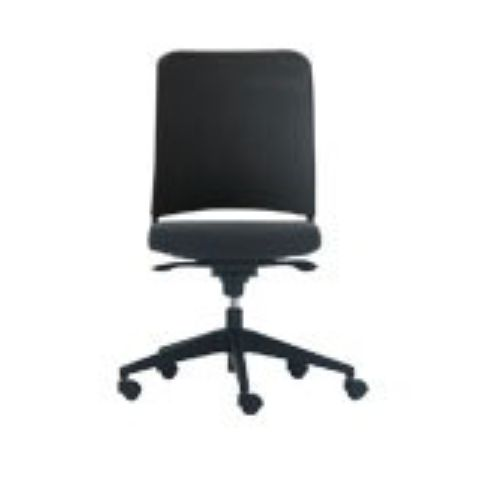 ONE synchro chair with upholstered medium backrest ON00044SI