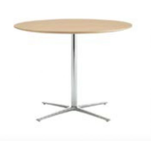 STELLA four spokes Ø73cm base, height 75cm in white STL0006BL