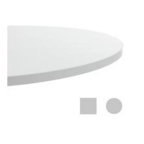 STELLA bilaminated circle table top 80cm TAP0080BL