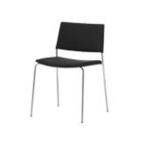 TEN 4 legs chair TEN0020BL
