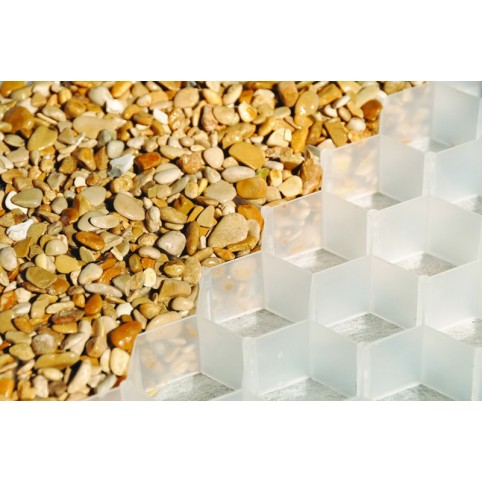 BERA Gravel Fix Pro XXL pur white (sold by pallet of 89,1 sqm)