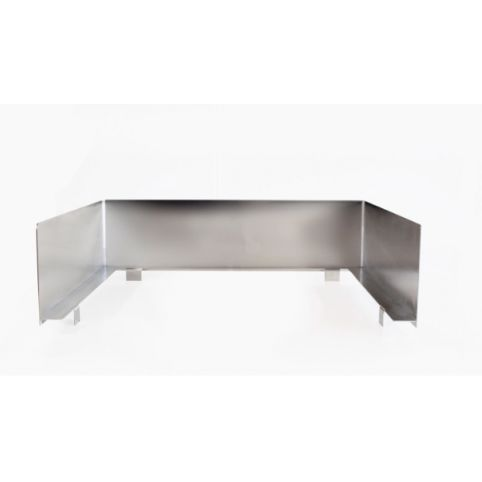 Windshield w CoverLid for Cooker Hob