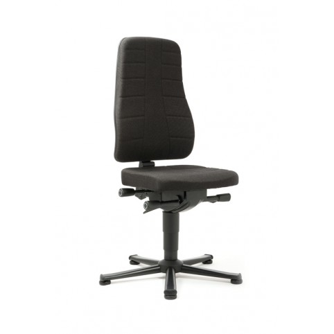 All-In-One Highline on glides, seat height of 450-600 mm, upholstery fabric, Ref: 9640