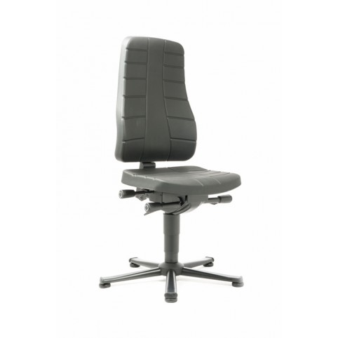 All-In-One Highline on glides, seat height of 450-600 mm, upholstery of integral foam, Ref: 9640