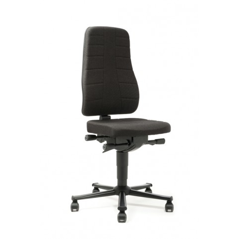 All-In-One Highline on castors, seat height of 450-600 mm, upholstery fabric, Ref: 9643