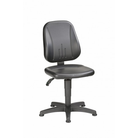 Unitec on glides, seat height of 440-620 mm, upholstery Artificial leather, Ref: 9650