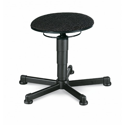 Stool glides, seat height of 460-630 mm, upholstery fabric, Ref: 9467