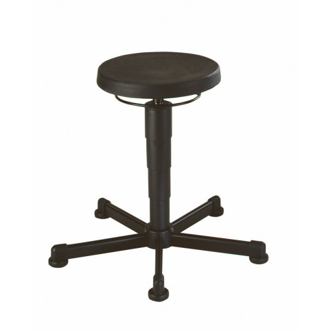 Stool glides, seat height of 460-630 mm, upholstery of integral foam, Ref: 9467