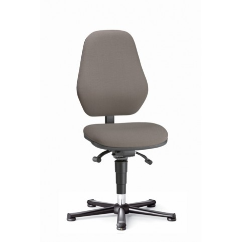 Basic ESD on glides, seat height of 490-630 mm, upholstery fabric, Ref: 9157E
