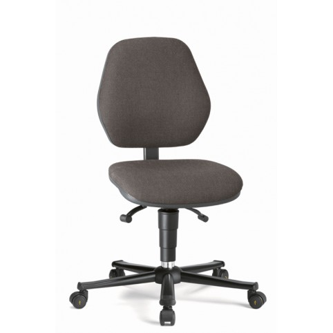 Basic ESD on castors, seat height of 470-610 mm, upholstery fabric, Ref: 9151E