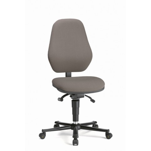 Basic ESD on castors, seat height of 490-630 mm, upholstery fabric, Ref: 9158E