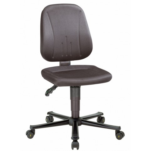 ESD Unitec on castors, seat height of 440-590 mm, upholstery fabric, Ref: 9653E