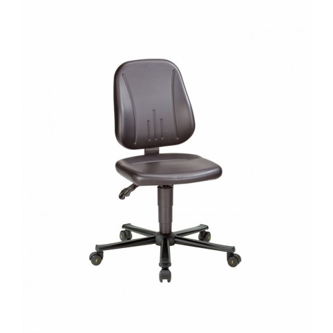 Unitec ESD on castors, seat height of 440-590 mm, upholstery Artificial leather, Ref: 9653E