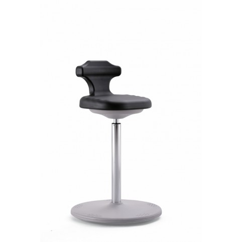 Labster sit-stand, seat height of 650-850 mm, integral foam Upholstery, Ref: 9106