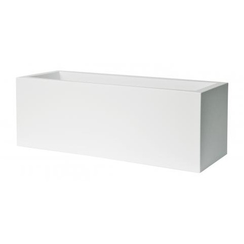 KUBE RECTANGULAR PLANT BOX WITH WHEELS 80 CM