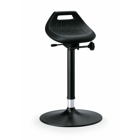 Industrial ESD standing rest, seat height of 650-850 mm, PU foam, Ref: 9454E