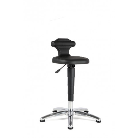 ESD Flex seat height of 510-780 mm, integral foam plastic base on glides, Ref: 9409E