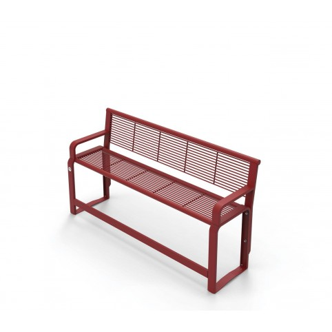 ETHOS SENIOR high bench in powder coated steel - 500x1620 H:860 mm