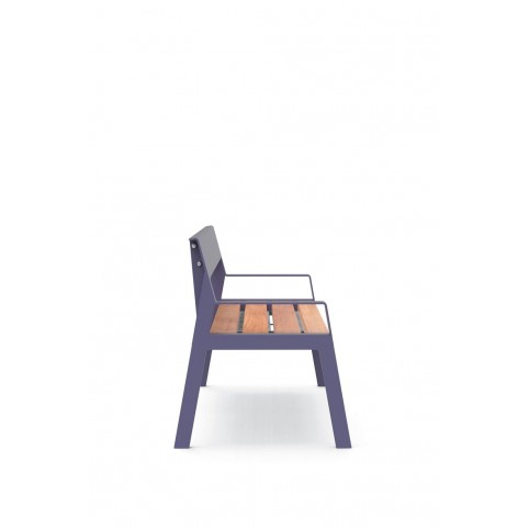 CASTEO BABY bench with backrest - 468x1000 H:300 mm
