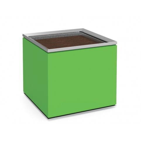 BATUR aquare steel planter and multilayer with galvanized inner liner