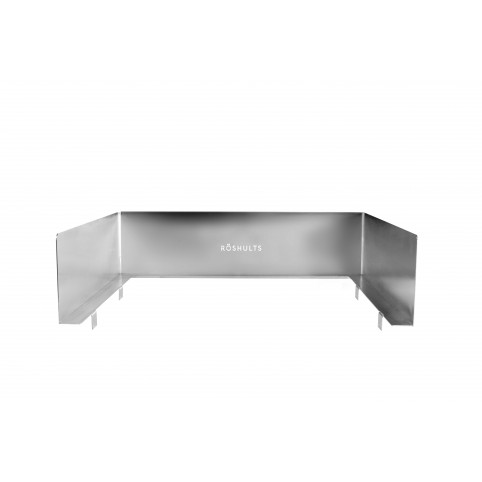 Windshield 50 (Booster BBQ Grill) Stainless Steel