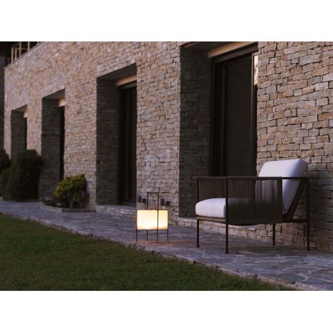 Garden Antibes Chair frame Anthracite (7021) and Sand